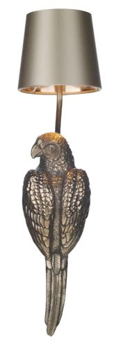 Parrot single wall light, right facing in bronze PAR0700R (7-10 day delivery)